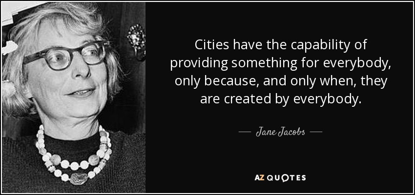 Jane Jacobs The Ivy And Me Sandy James Planner